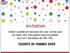"photo de ""Talents de femmes"""