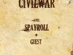 picture of CIVIL WAR + SPAYROLL + GUEST