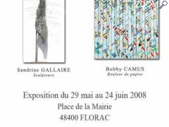 photo de 1ère exposition 2008