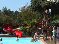 photo de camping le martinet rouge