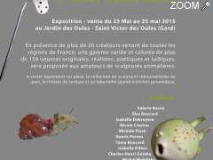 photo de Exposition-Vente de sculptures animalières