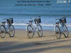 photo de location de vélos à Saint Pierre la mer