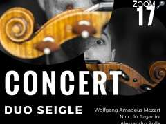 photo de Concert duo Violon et violoncelle - Duo Seigle
